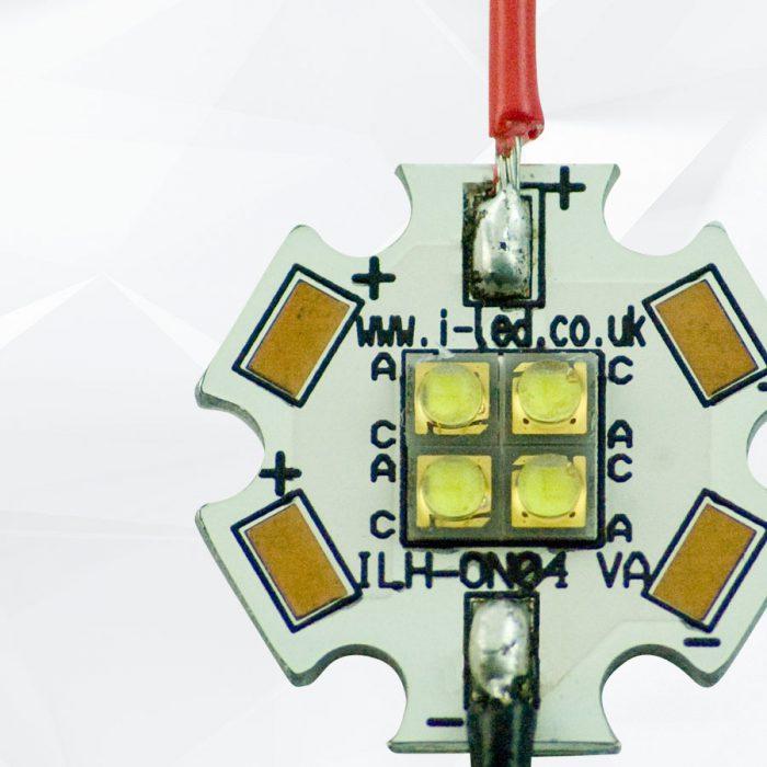 4 LED Stars