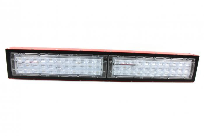 IHS Florence LED grow light module, Supplemental fruiting with oval lens, front view