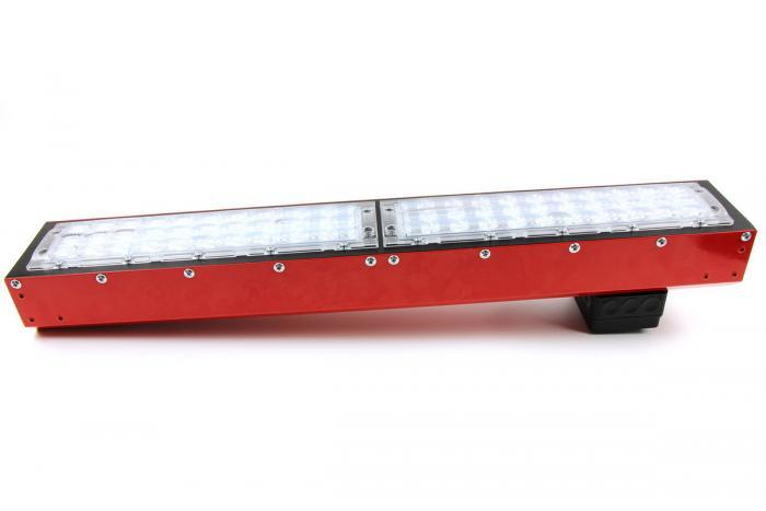 IHS Florence LED grow light module, Supplemental seeding with narrow lens